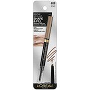 L'Oreal Paris Brow Stylist Shape & Fill Mechanical Eye Brow Pencil, Blonde
