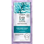 L'Oreal Paris EverPure Deep Moisture Hair Sheet Mask