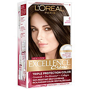 L'Oreal Paris Excellence Créme Permanent Hair Color, 4 Dark Brown