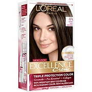 L'Oreal Paris Excellence Créme Permanent Hair Color, 4A Dark Ash Brown