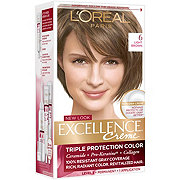 L'Oreal Paris Excellence Créme Permanent Hair Color, 6 Light Brown