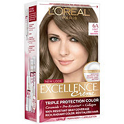 L'Oreal Paris Excellence Créme Permanent Hair Color, 6A Light Ash Brown