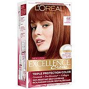 L'Oreal Paris Excellence Créme Permanent Hair Color, 6R Light Auburn