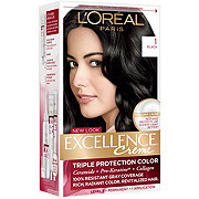 L'Oreal Paris Excellence Creme Level 1 Permanent 1 Natural Black Triple Protection Color Creme