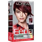 L'Oreal Paris Feria 41 Warmer Rich Mahogany Permanent Haircolour Gel