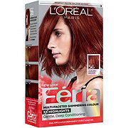 L'Oreal Paris Feria 56 Warmer Auburn Brown Permanent Hair Colour Gel