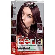 L'Oreal Paris Feria Permanent Hair Color, 36 Chocolate Cherry (Deep Burgundy Brown)
