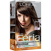 L'Oreal Paris Feria Permanent Hair Color, 40 Espresso (Deeply Brown)