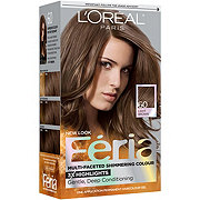 L'Oreal Paris Feria Permanent Hair Color, 60 Crystal Brown (Light Brown)
