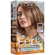 L'Oreal Paris Feria Permanent Hair Color, B61 Downtown Brown (Hi-Lift Cool Brown)