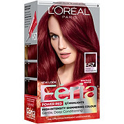 L'Oreal Paris Feria Permanent Hair Color, R57 Cherry Crush (Intense Medium Auburn)
