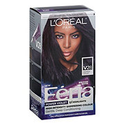 L'Oreal Paris Feria Permanent Hair Color, V28 Midnight Violet (Deepest Violet)