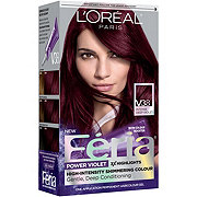 L'Oreal Paris Feria Permanent Hair Color, V38 Violet Noir (Intense Deep Violet)