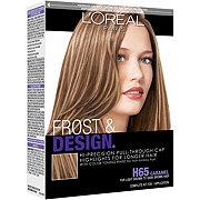 L'Oreal Paris Frost & Design H65 Caramel Dramatic Hi-Precision Pull-Through Cap Highlights