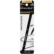 L'Oreal Paris Infallible Matte Matic Liner, Black 512