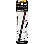 L'Oreal Paris Infallible Matte-Matic Mechanical Eyeliner, Deep Brown