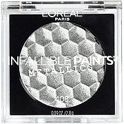 L'Oreal Paris Infallible Paints Eyeshadow Metallics Aluminum Foil