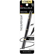 L'Oreal Paris Infallible Super Slim Long-Lasting Liquid Eyeliner, Black