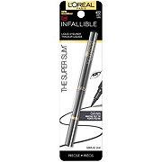 L'Oreal Paris Infallible Super Slim Long-Lasting Liquid Eyeliner, Gray