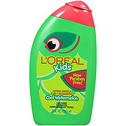 L'Oreal Paris Kids Burst of Watermelon Extra Gentle 2-in-1 Shampoo for Thick or Curly or Wavy