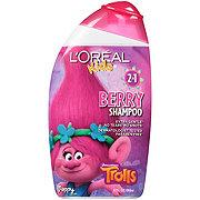 L'Oreal Paris Kids Extra Gentle 2-in-1 Disney Pixar Cars 2 Lightning McQueen Strawberry Shampoo