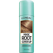 L'Oreal Paris Magic Root Cover Up Gray Concealer Spray, Dark Blonde