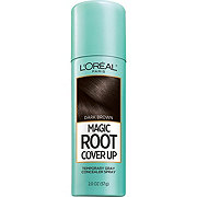 L'Oreal Paris Magic Root Cover Up Gray Concealer Spray, Dark Brown