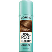 L'Oreal Paris Magic Root Cover Up Gray Concealer Spray, Light Golden Brown