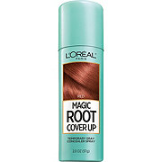 L'Oreal Paris Magic Root Cover Up Gray Concealer Spray, Red
