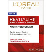 L'Oreal Paris RevitaLift Anti-Wrinkle + Firming Night Cream Moisturizer