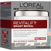 L'Oreal Paris RevitaLift Bright Reveal Brightening Daily Peel Pads