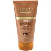 L'Oreal Paris Sublime Bronze Lotion Pearlized Tinted Deep Tan