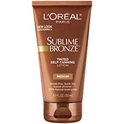 L'Oreal Paris Sublime Bronze Tinted Self-Tanning Lotion Medium Natural Tan