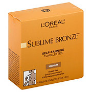 L'Oreal Paris Sublime Bronze Towelettes for Body