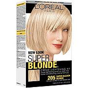 L'Oreal Paris Super Blonde 205 Super Bleach Blonde Creme Lightening Kit