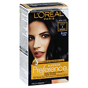 L'Oreal Paris Superior Preference 1 Natural Ultimate Black Permanent Color