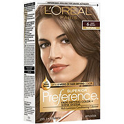 L'Oreal Paris Superior Preference 6 Light Brown Natural Fade-Defying Color and Shine System