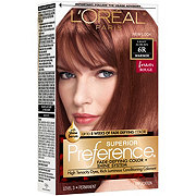 L'Oreal Paris Superior Preference 6R Light Auburn Warmer Permanent Haircolor