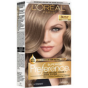 L'Oreal Paris Superior Preference 7A Dark Ash Blonde Cooler Permanent Haircolor