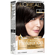 L'Oreal Paris Superior Preference Permanent Hair Color, 3 Soft Black