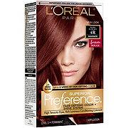 L'Oreal Paris Superior Preference Permanent Hair Color, 4R Dark Auburn
