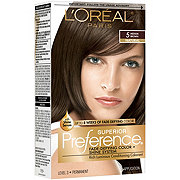 L'Oreal Paris Superior Preference Permanent Hair Color, 5 Medium Brown