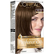 L'Oreal Paris Superior Preference Permanent Hair Color, 5G Medium Golden Brown