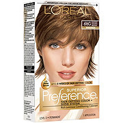 L'Oreal Paris Superior Preference Permanent Hair Color, 6.5G Lightest Golden Brown