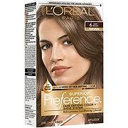 L'Oreal Paris Superior Preference Permanent Hair Color, 6 Light Brown