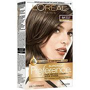 L'Oreal Paris Superior Preference Permanent Hair Color, 6A Light Ash Brown