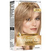 L'Oreal Paris Superior Preference Permanent Hair Color, 8 Medium Blonde
