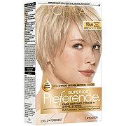 L'Oreal Paris Superior Preference Permanent Hair Color, 9.5A Lightest Ash Blonde