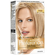 L'Oreal Paris Superior Preference Permanent Hair Color, 9 Natural Blonde