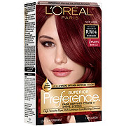 L'Oreal Paris Superior Preference RRO4 Intense Dark Red Fade-Defying Color & Shine System